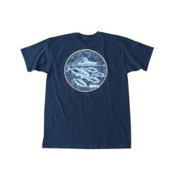 Riffe Striker Short-Sleeve T-Shirt - Navy Blue
