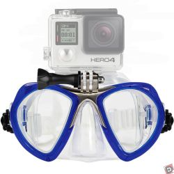GoMask Scuba Dual-Lens Mask with GoPro Mount
