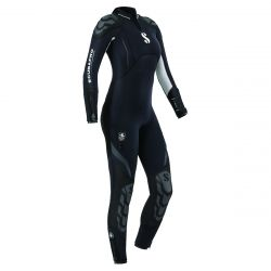 ScubaPro 5/4 MM Everflex Rear-Zip Full Steamer Wetsuit (Women's)