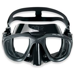 Omer Alien Black Diving Mask