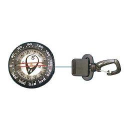 Retractable Compass, Clip-On Attachment