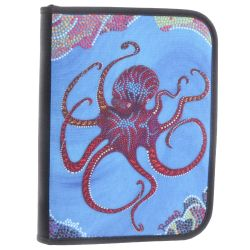 3-Ring Dive Log Binder with Inserts- Octopus