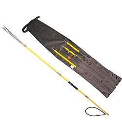 Deluxe 3 Piece Pole Spear Travel Set, 6.5 ft (2 m)
