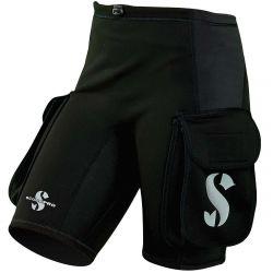 ScubaPro 1MM Hybrid Thermal Plush Cargo Shorts (Women's)