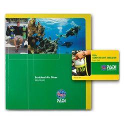 PADI Enriched Air Diver Manual /W DC SIM (English)