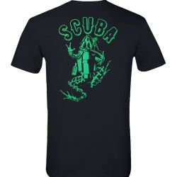 Amphibious Outfitters Scuba Frog Glow Short-Sleeve Tee