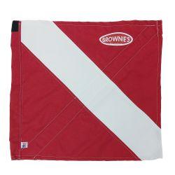 Brownie's 24in x 24in Boat Flag