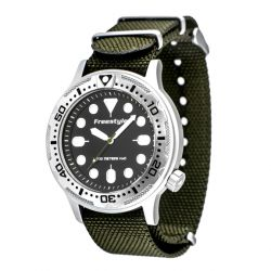 Freestyle Ballistic Diver Analog Dive Watch