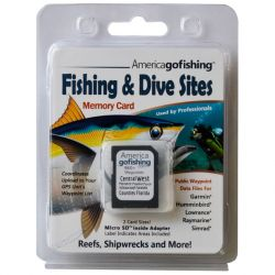 Florida-Go-Fishing GPS Dive and Fishing Spot Locations - Central West Florida