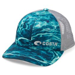 Costa Mossy Oak Elements Water Camo Trucker Hat
