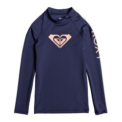 Roxy Whole Hearted UPF 50+ Long-Sleeve Rashguard  (Girls')
