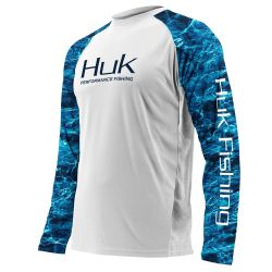 Huk Elements Double Header Vented Long-Sleeve Performance Shirt (Men's)
