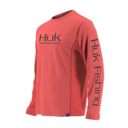 Huk Icon UPF 30+ Long-Sleeve Performance Shirt (Men's)