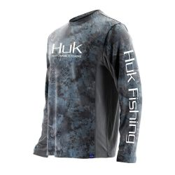 Huk Icon Camo UPF 30+ Long-Sleeve Performance Shirt