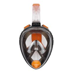 Ocean Reef Aria QR+ Full Face Snorkel Mask with Camera Holder