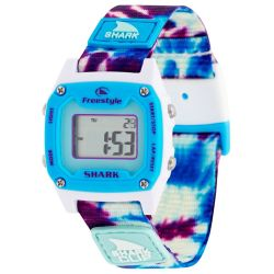 Freestyle Shark Mini Clip Water-Resistant Watch - Tie-Dye Blue Daze