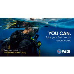 PADI Discover SCUBA Diving Guide, English