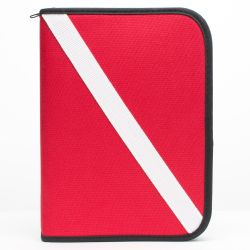 Dive Flag Dive Log Binder