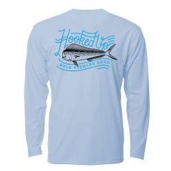 AVID Hooked Mahi AviDry +50 UPF Long-Sleeve Performance Sunshirt (Men's)