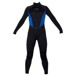 EVO 5/3 Women's Full Scuba Wetsuit - Black + Blue