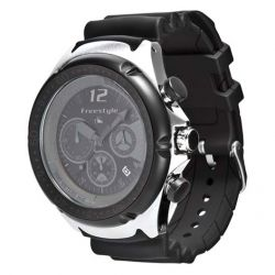 Freestyle Hammerhead Chrono XL Dive Watch - Black/Black