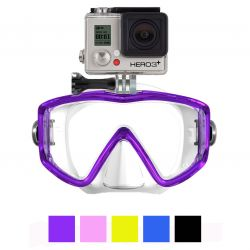 GoMask Panorama 3-Lens Scuba Mask for GoPro