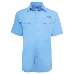 Hook & Tackle Men's Coastline Short-Sleeve Fishing Shirt