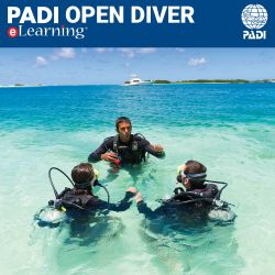 PADI Open Water eLearning® Online Certification Pak - Classroom Portion