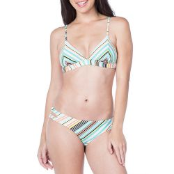 Bikini Lab South Beach Striped Hipster Swimsuit Bottom