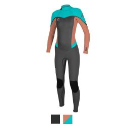 O'Neill Women's Flair Full Scuba Wetsuit 4/3mm