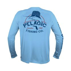 PELAGIC Florida Fish Co. AquaTek UPF 50+ Sunshirt