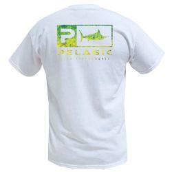 Pelagic Dorado Green Youth Fishing T-Shirt