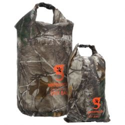 Gecko Realtree 2-Pack Lightweight Compression Dry Bag - Xtra Camouflage
