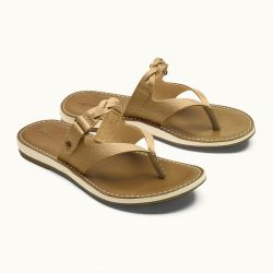OluKai Kahikolu Leather Sandals (Women's)