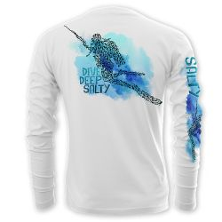 Salty Sportswear Dive Deep Salty Performance Long-Sleeve Shirt
