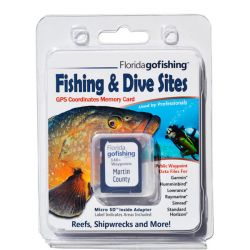 Florida Go Fishing Martin County GPS Dive and Fishing Locations