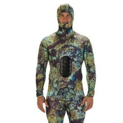 Riffe Lycra Spearfishing Suit - Digi-Tek Beavertail Top