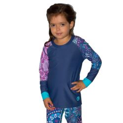 Wave Life Girls' Paisley Rashguard