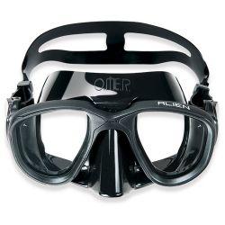 Omer Alien Black Diving Mask