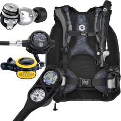 Aqua Lung Travel-Friendly Scuba Gear Package