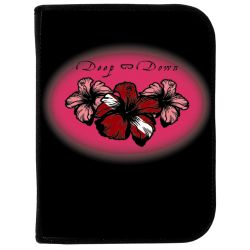 3-Ring Dive Log Binder with Inserts- Pink Hibiscus