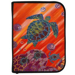 3-Ring Dive Log Binder with Inserts- Turtle