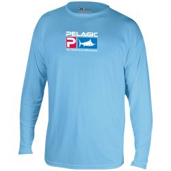 PELAGIC AquaTek UPF 50+ Long Sleeve Sunshirt