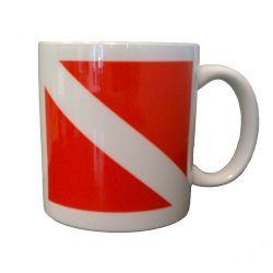 Dive Flag Mug - Ceramic