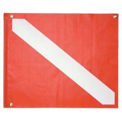 Vinyl Boat Dive Flag 20
