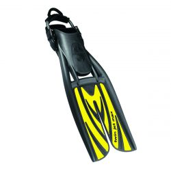 ScubaPro Twin Jet Max Diving Splitfins with Spring Straps