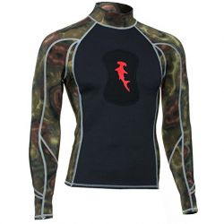 HammerHead 1MM Ambush Long-Sleeved Spearfishing Rashguard with Loading Pad (Men's)