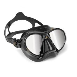 Cressi Nano Black Mirrored Mask
