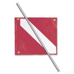 Dive Flag and Pole for Sevylor Diveyak Kayak