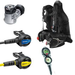 Mares Journey Elite 3.0 Scuba Gear Package with Puck 2 Dive Computer